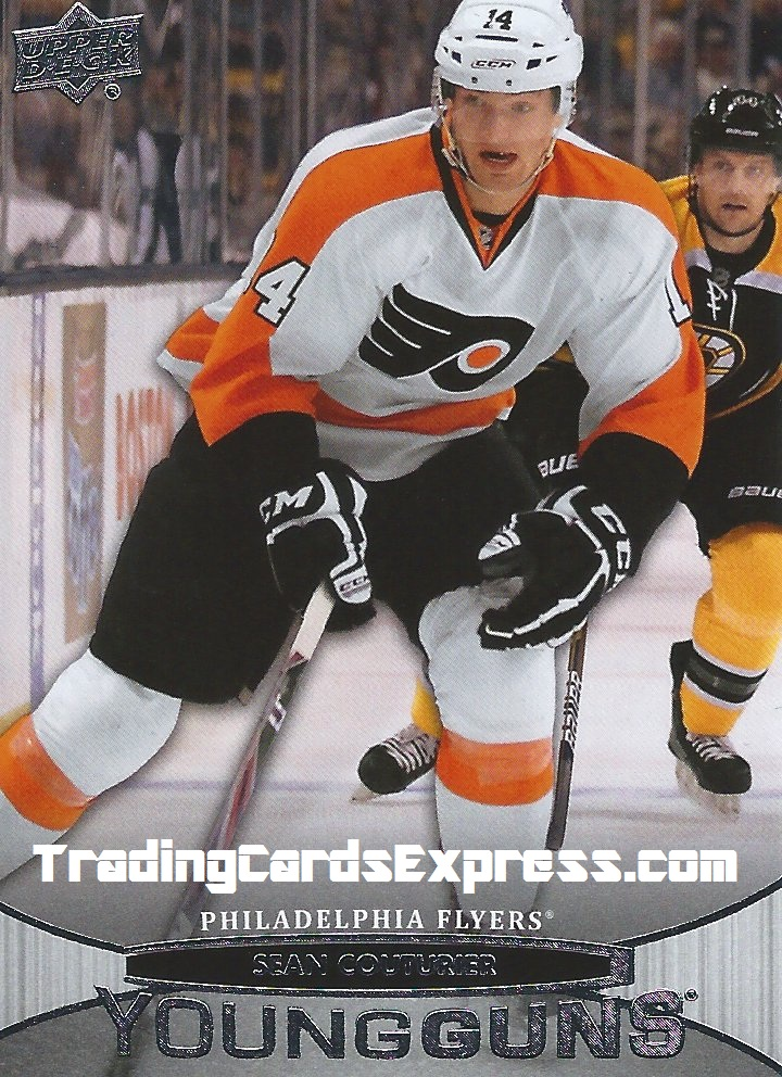 Sean Couturier Card 234 Upper Deck Series One Philidelphia Flyers 2011 - 2012 Front