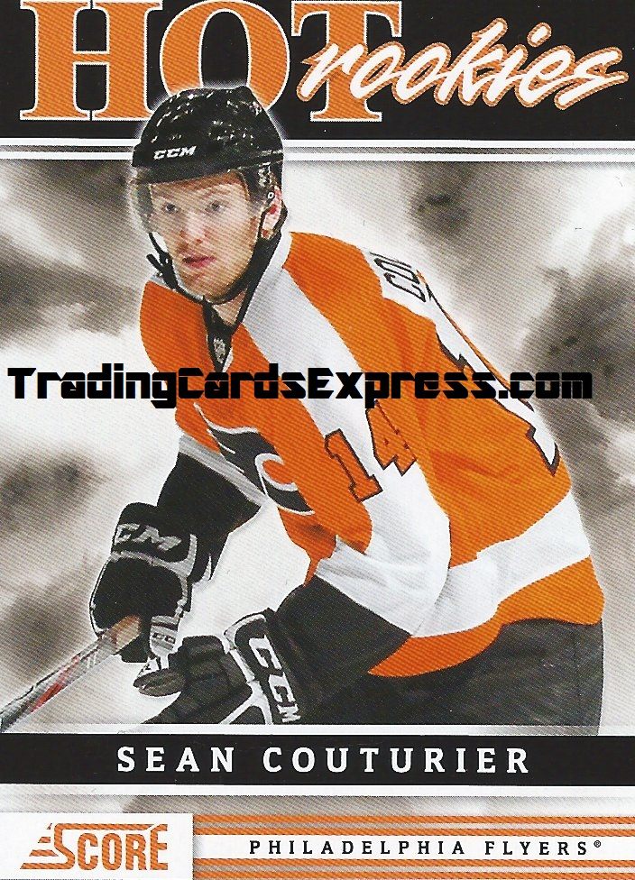 Sean Couturier Card 557 Panini Score Philidelphia Flyers 2011 - 2012 Front