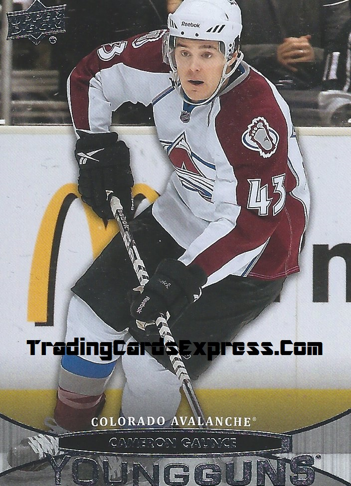 Cameron Gaunce - Card 209 - UD Series 1 - 2011-2012 - Front