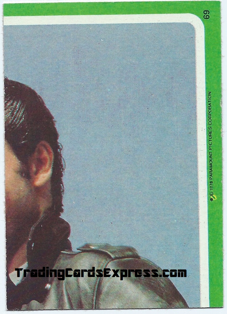 Grease - Card 69 - 1978 - Front Side