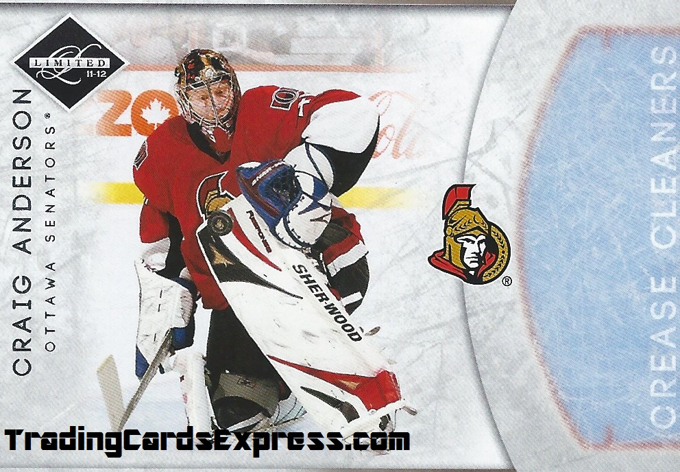 Craig Anderson - Card 11 - Panini Limited - 2011-2012 - Front