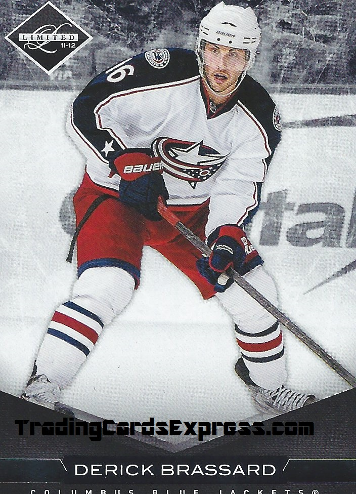 Derick Brassard - Card 171 - Panini Limited - 2011-2012 - Front