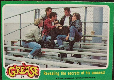 Grease Card 97 Revealing The Secrets Of His Success Front Side