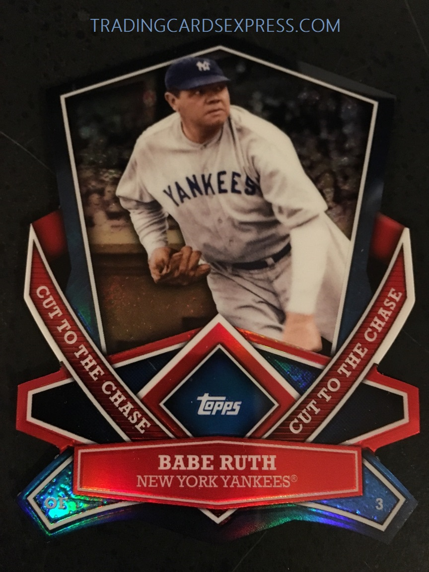 Babe Ruth Yankees 2013 Topps Cut To The Chase CTC4
