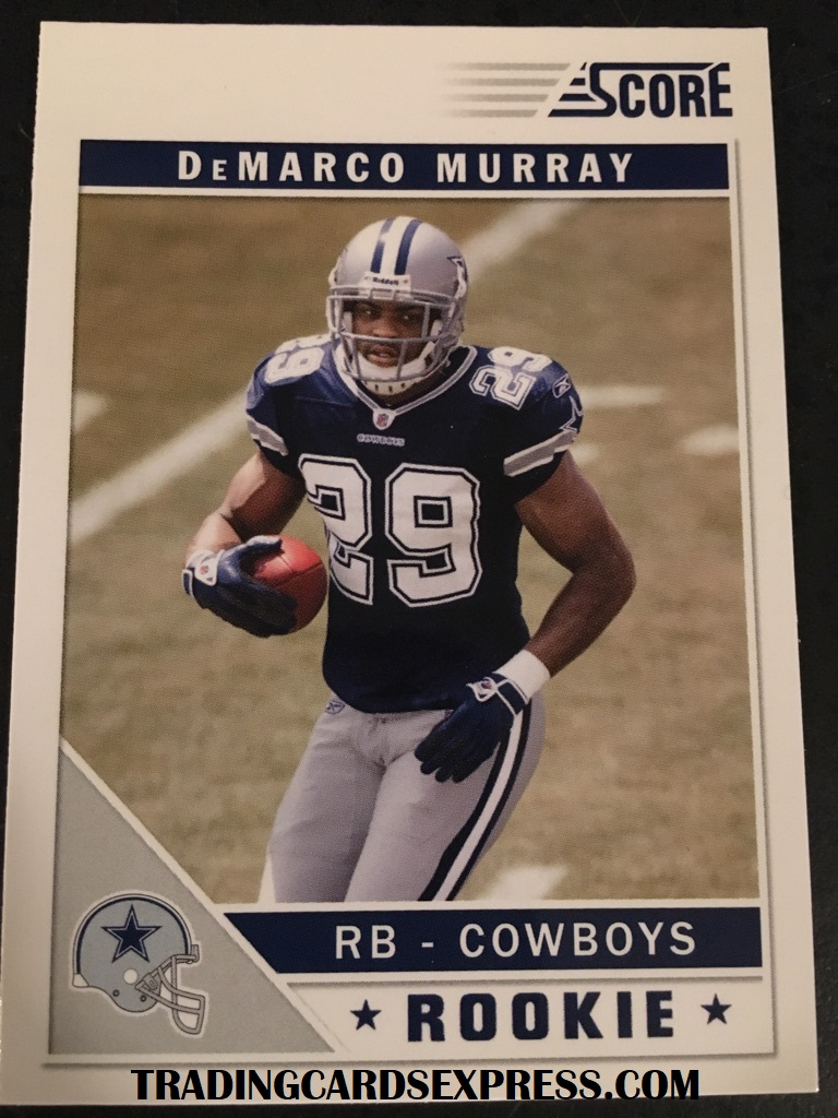 DeMarco Murray Cowboys 2011 Score Rookie Card 329
