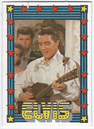 Elvis Presley Trading Cards The 1978 Monty Gum Card 10