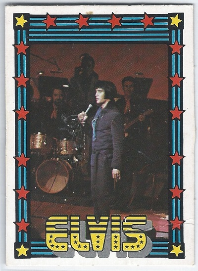 Elvis Presley Trading Cards The 1978 Monty Gum Card 12