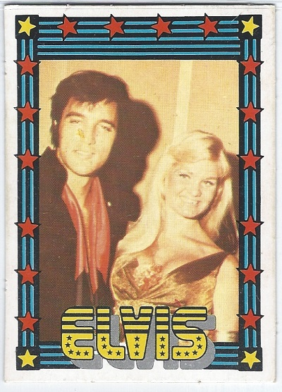Elvis Presley Trading Cards The 1978 Monty Gum Card 16