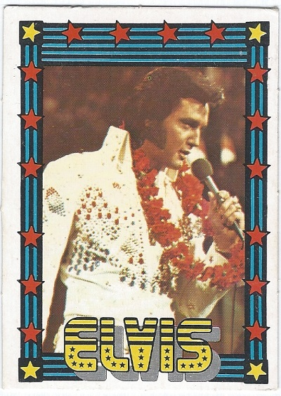 Elvis Presley Trading Cards The 1978 Monty Gum Card 20 Trading