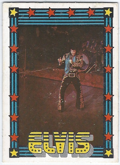 Elvis Presley Trading Cards The 1978 Monty Gum Card 22