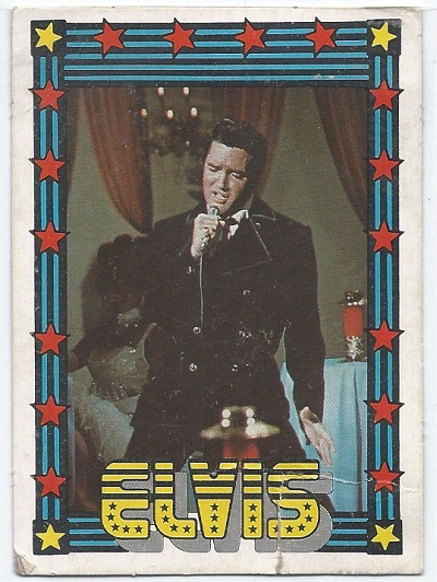Elvis Presley Trading Cards The 1978 Monty Gum Card 29 Trading