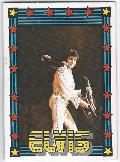 Elvis Presley Trading Cards The 1978 Monty Gum Card 31