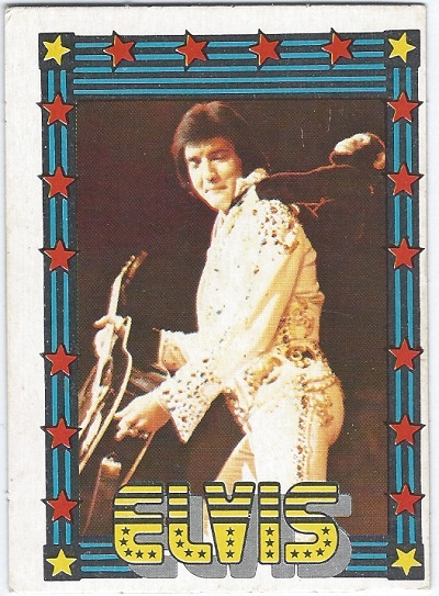 Elvis Presley Trading Cards The 1978 Monty Gum Card 33