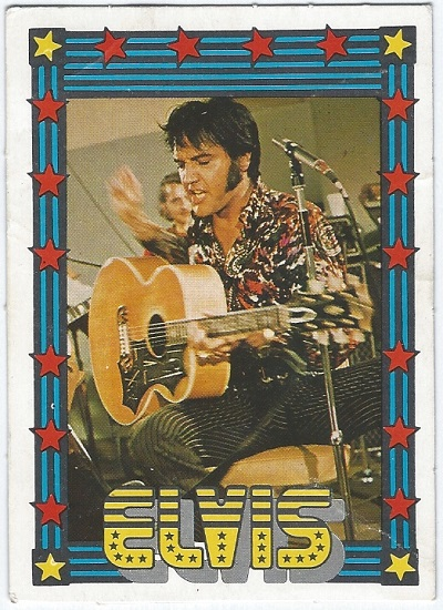 Elvis Presley Trading Cards The 1978 Monty Gum Card 34 Trading