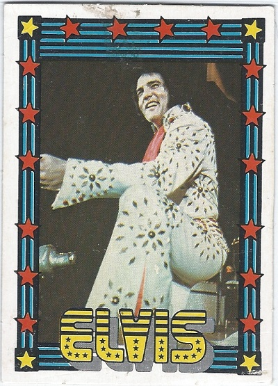 Elvis Presley Trading Cards The 1978 Monty Gum Card 35