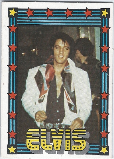 Elvis Presley Trading Cards The 1978 Monty Gum Card 36 Trading