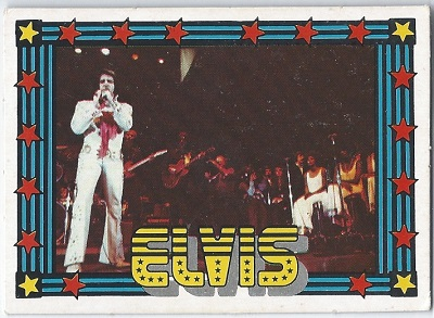 Elvis Presley Trading Cards The 1978 Monty Gum Card 37