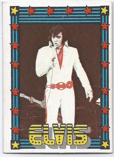 Elvis Presley Trading Cards The 1978 Monty Gum Cards 5