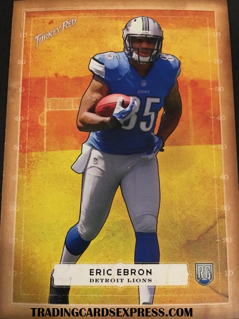 Eric Ebron Lions 2014 Topps Turkey Red Rookie Card 57
