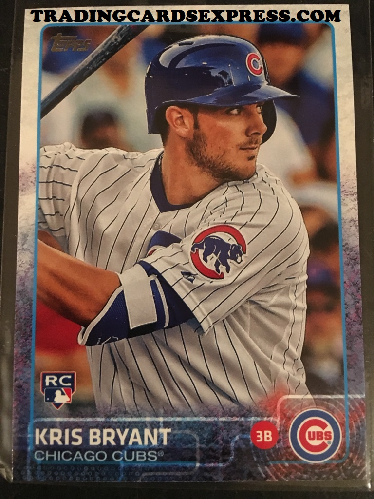 Kris Bryant Cubs 2015 Topps Series 2 Rookie Card 616