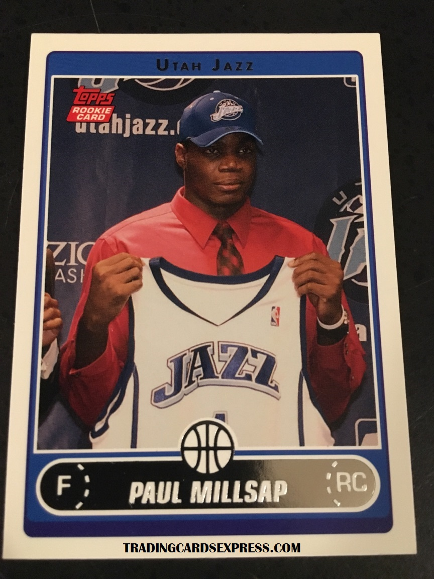 Paul Millsap Jazz 2006 Topps Rookie Card 253