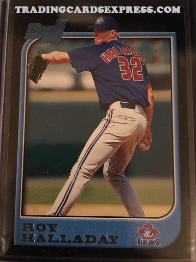 Roy Halladay Blue Jays 1997 Bowman Rookie Card 308