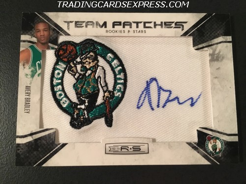 Avery Bradley Celtics 2010 2011 Panini Rookies Stars Team Patches Autograph Rookie Card 133 180 449 Front
