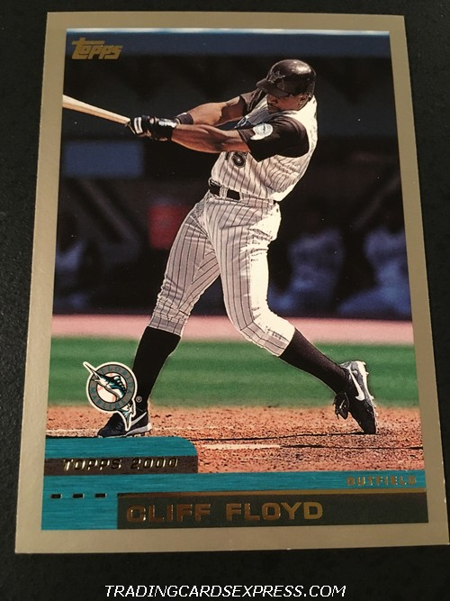 Cliff Floyd Marlins 2000 Topps 252 Front