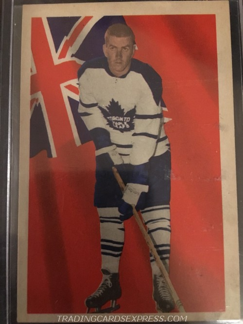 Dave Keon Maple Leafs 1963 1964 Parkhurst 75 Front