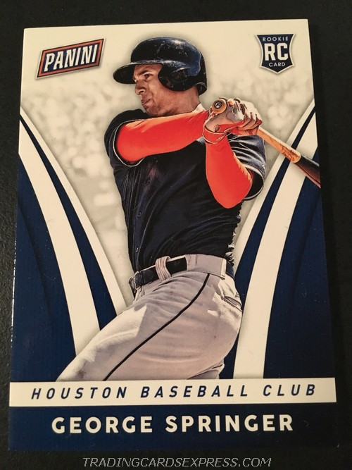 George Springer Astors 2014 Panini Boxing Day Rookie Card 33 Front