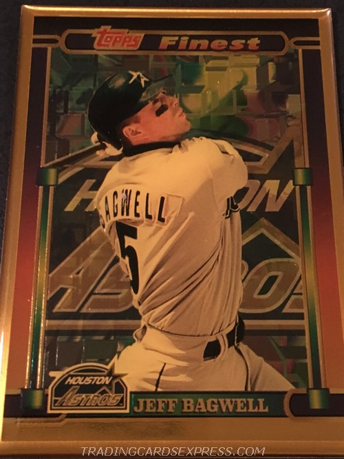 Jeff Bagwell Astors 1995 Topps Finest Bronze 3 Front