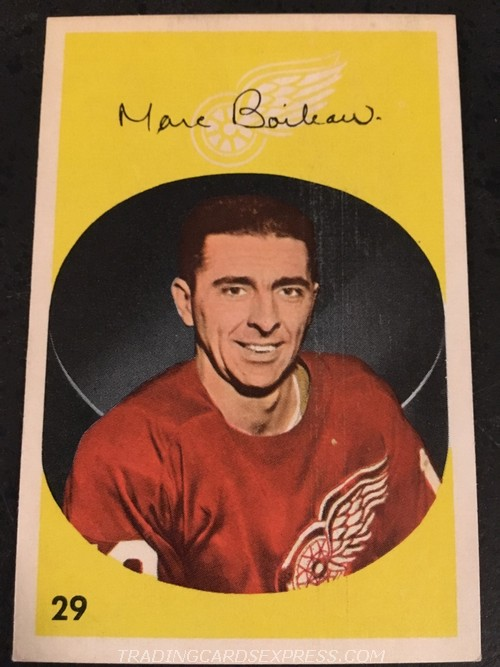 Marc Boileau Red Wings 1962 1963 Parkhurst 29 Front