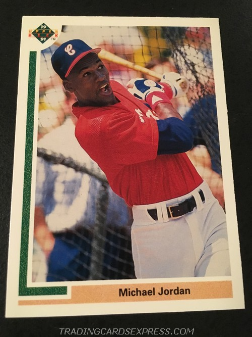 Michael Jordan White Sox 1991 Upper Deck Rookie Card SP1 Front