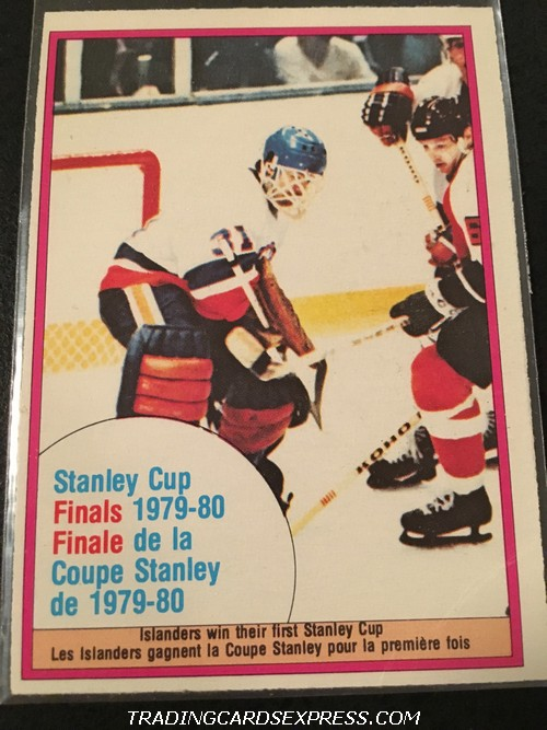New York Islanders 1980 1981 O Pee Chee Stanley Cup Finals 264 Front