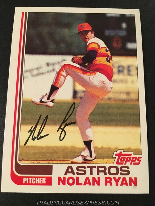 Nolan Ryan Astors 1982 Topps 90 Front