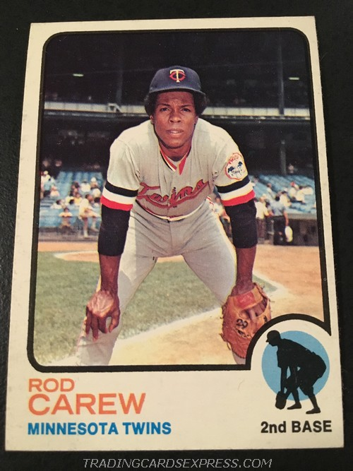 Rod Carew Twins 1973 Topps 330 Front