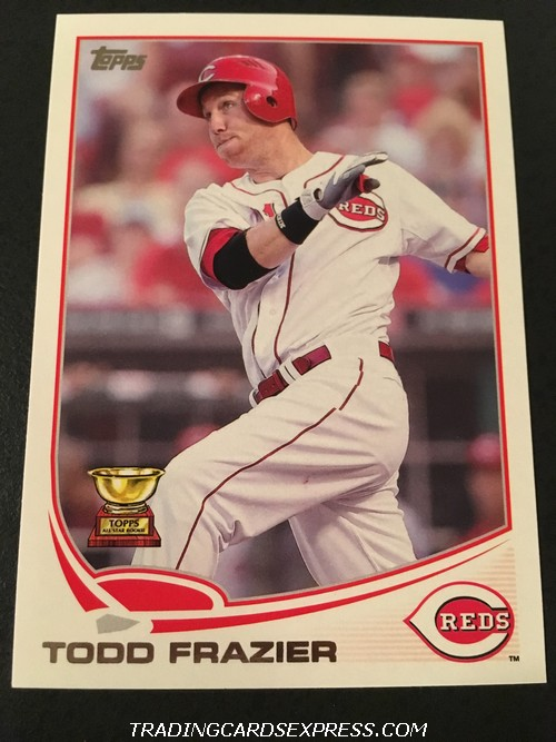 Todd Frazier Reds 2013 Topps All Star Rookie 70 Front