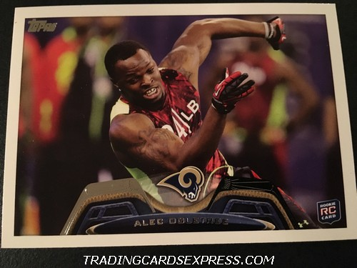Alec Ogletree Rams 2013 Topps Rookie Card 353 Front