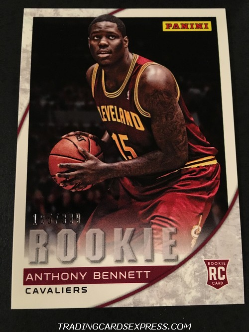 Anthony Bennett Cavaliers 2013 Panini Expo Rookie Card 22 185 399 Front