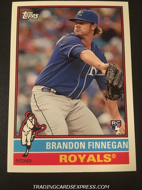 Brandon Finnegan Royals 2015 Topps Archives Rookie Card 106 Front