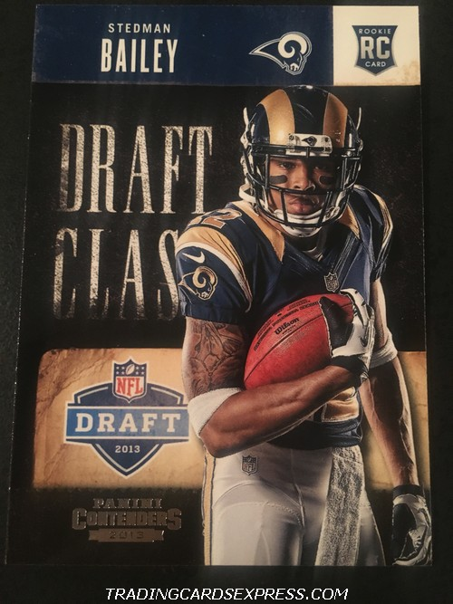 Stedman Bailey Rams 2013 Panini Contenders Draft Class Rookie Card 15 Front
