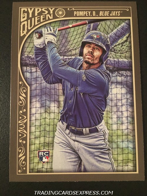 Dalton Pompey Blue Jays 2015 Topps Gypsy Queen Rookie Card 107 Front