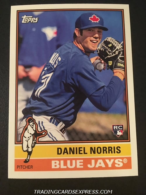 Daniel Norris Blue Jays 2015 Topps Archives Rookie Card 190 Front