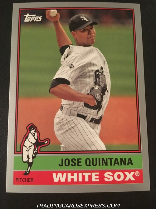 Jose Quintana White Sox 2015 Topps Archives Silver 141 174 199 Front