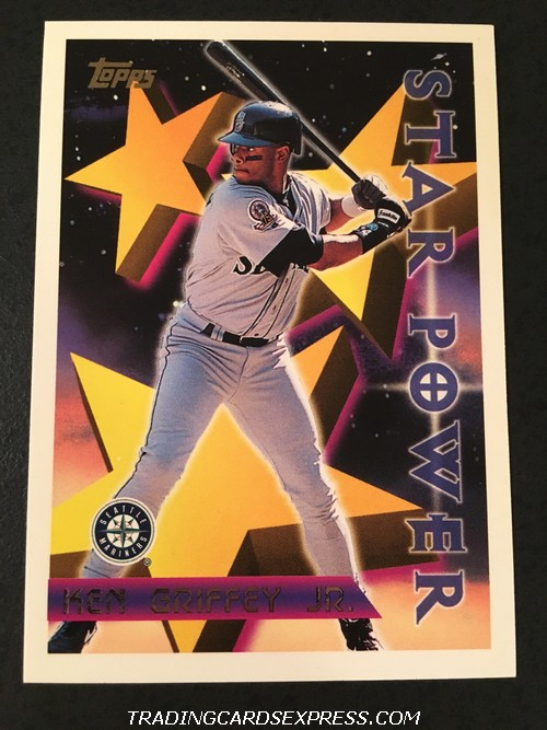 Ken Griffey Jr. Mariners 1996 Topps Star Power 230 Front