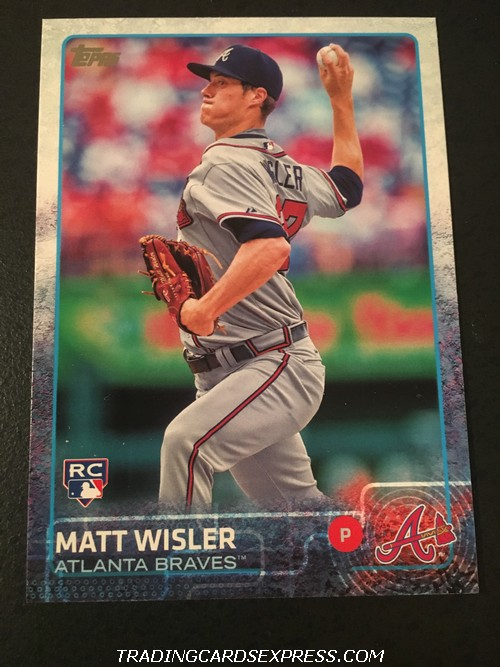 Matt Wisler Braves 2015 Topps Rookie Card US284 Front