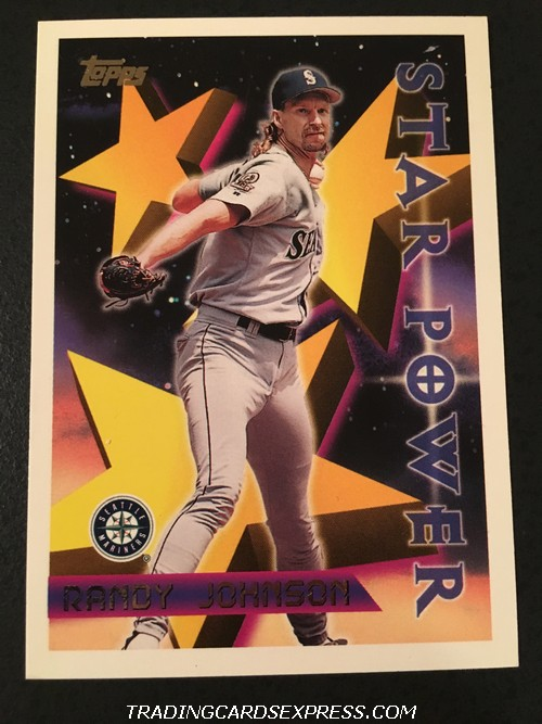 Randy Johnson Mariners 1996 Topps Star Power 224 Front
