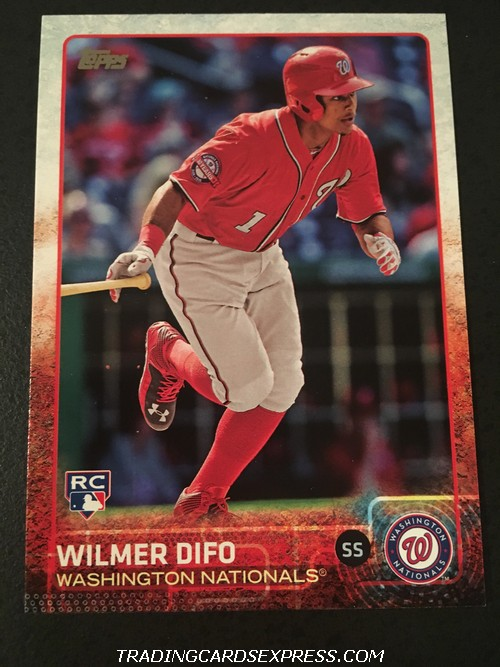 Wilmer Difo Nationals 2015 Topps Rookie Card US2 Front