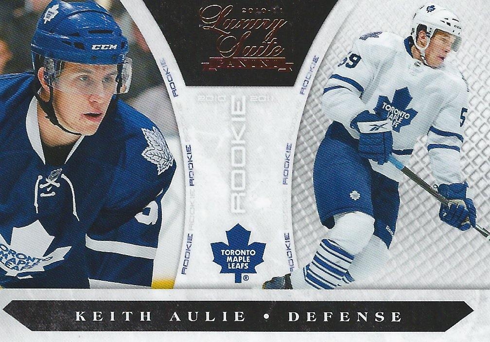 Keith Aulie - Card 223 - Panini Luxury Suite - 2010-2011 - Front