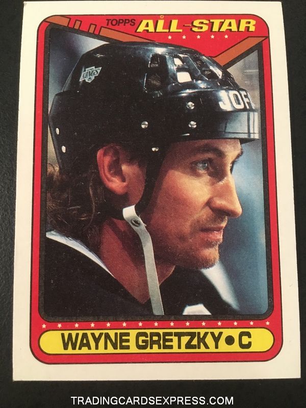 Wayne Gretzky Kings 1990 1991 Topps All Star 199 Front